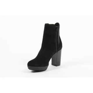 1969 V Italia Black Suede Ankle Boot