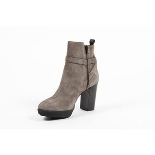 Versace 1969 V Italia Suede Ankle Boot