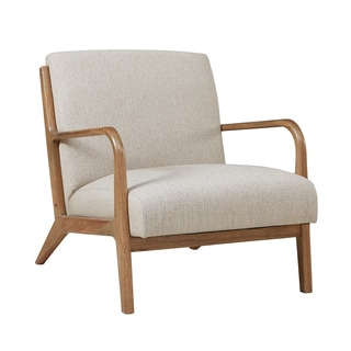 Attrayant INK+IVY Novak Cream/ Natural Lounge Chair