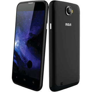 RCA RLTP5044 Black 5-inch Android Dual-core Dual-camera Unlocked Smartphone