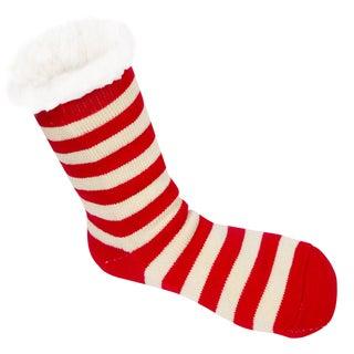 Leisureland Women's Stripe Slipper Socks