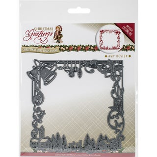 Find It Trading Amy Design Christmas Greetings Die-Christmas Greetings