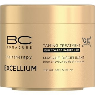 Schwarzkopf Professional BC Bonacure Excellium Q10+ Omega 3 Taming 5-ounce Treatment