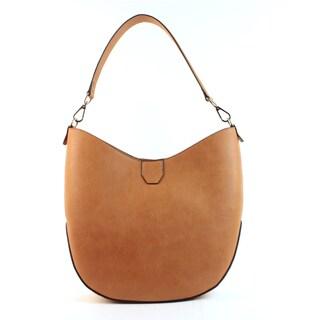 Emilie M Loren Tan PVC Hobo Handbag