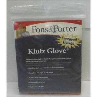Klutz Synthetic Fiber and Stainless Steel Medium Glove