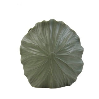 FireFly Matte Grey Ceramic 12-inch Vase