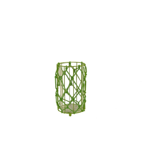 FireFly Green Metal Candle Holder