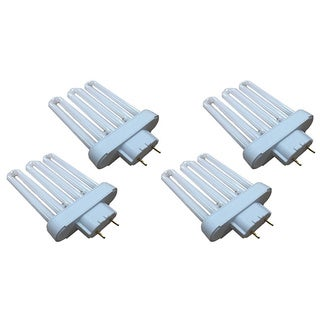 4pk Replacement Type A CFL Light Bulbs, Fits Miracle-Gro AeroGarden, Compatible with Part 100633