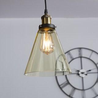 Harper Blvd Tanarus Colored Glass Mini Pendant Lamp - Champagne Amber