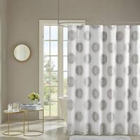 Madison Park Othello Lined Shower Curtain 3-Color Option