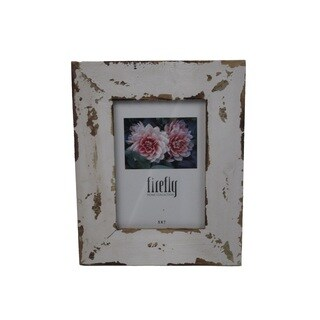 Firefly Antique Beige Wooden 5x7 Picture Frame