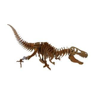 Trekshops Brown Laser-cut Steel T-rex Dinosaur Profession/Commercial Decor Piece|https://ak1.ostkcdn.com/images/products/13548889/P20227470.jpg?impolicy=medium