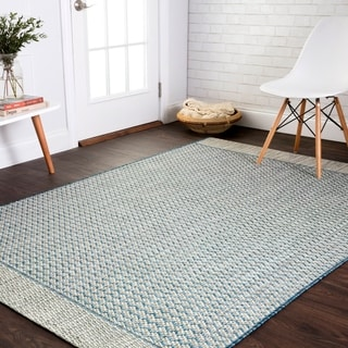 Indoor/ Outdoor Havannah Chevron Rug (5'3 X 7'7)