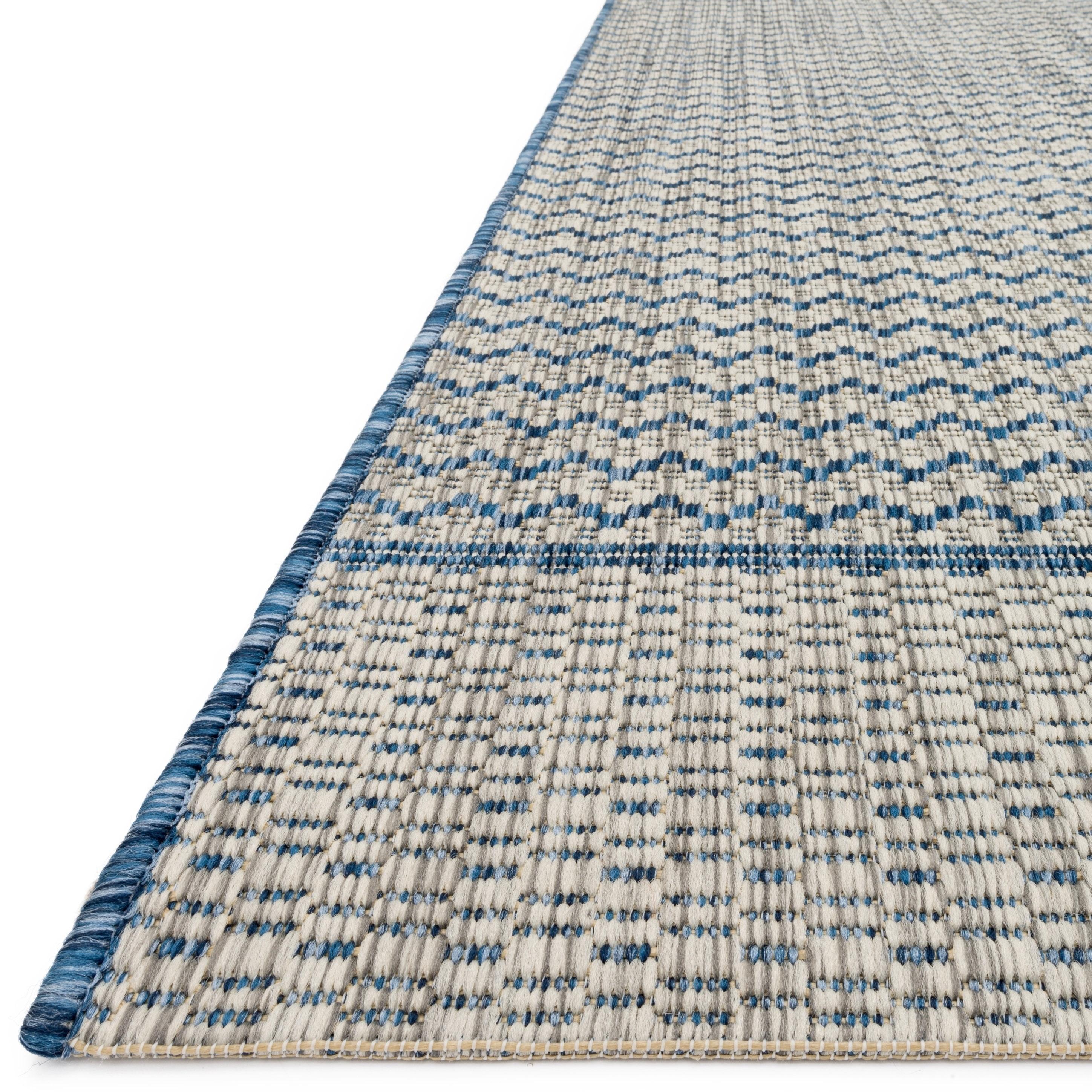 Chevron Stripe Rug: Indoor/ Outdoor Chevron Stripe Patio Rug