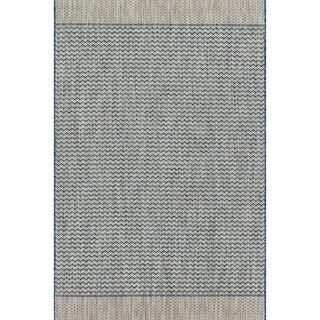 Indoor/ Outdoor Havannah Chevron Rug (3'11 X 5'10)