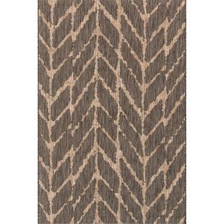 Indoor/ Outdoor Havannah Abstract Chevron Rug (2'2 X 3'9)
