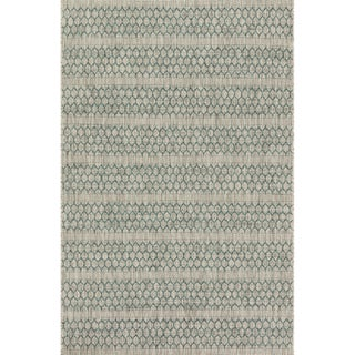 Havenside Home Wilminton Indoor/ Outdoor Havannah Geometric Area Rug (7'10 x 10'9) (2 options available)