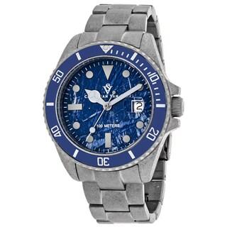 Christian Van Sant Men's CV5103B Montego Vintage Watches