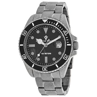 Christian Van Sant Men's CV5100B Montego Vintage Watches