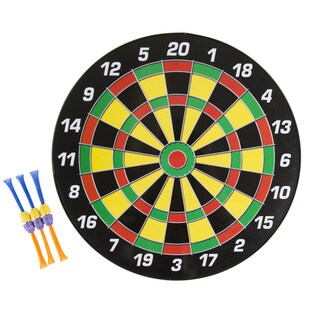 Hey! Play! 16 Inch Magnetic Dartboard Set