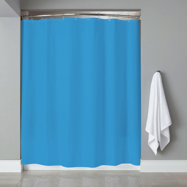 PVC Shower Curtain Liner (70 x 72) in Assorted Neon Colors