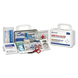First Aid Only ANSI Class A 10 Person First Aid Kit, 71 Pieces