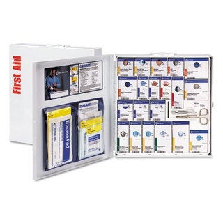 First Aid Only ANSI 2015 SmartCompliance Food Service Kit, w/o Medication, 50 People, 260 Piece