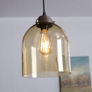 Harper Blvd Plancius Colored Glass Mini Pendant Lamp - Amber