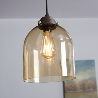 Harper Blvd Plancius Colored Glass Mini Pendant Lamp - Amber