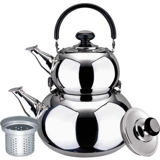 Stainless Steel Double Tea Kettle