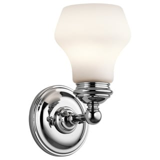 Kichler Lighting Currituck Collection 1-light Chrome Wall Sconce