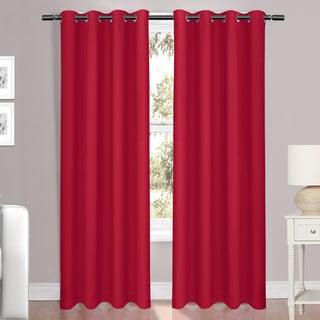 "Luxury Light Reducing Window Curtain Panel 54""x84"""