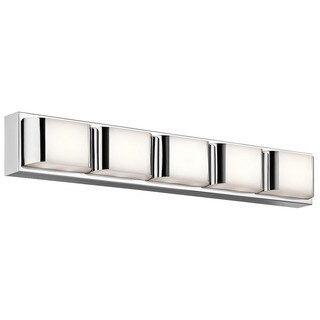 Kichler Lighting Nita Collection 1-light Chrome LED Bath/Vanity Light