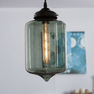 Harper Blvd Sandemose Colored Glass Pendant Lamp - Smoky Green
