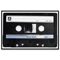 """Oliver Gal """"Custom Mixtape"""" Framed Whiteboard"""