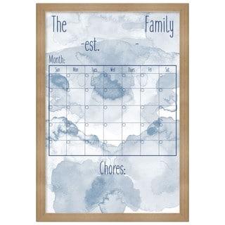 "Oliver Gal ""Family Board"" Framed Whiteboard"