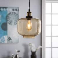 Harper Blvd Marimore Colored Glass Pendant Lamp - Amber