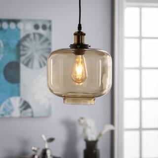 Harper Blvd Marimore Colored Gl Pendant Lamp Amber