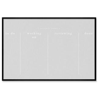 "Oliver Gal ""Project Board"" Framed Whiteboard"
