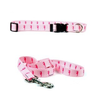 Yellow Dog Design Silly Seahorse Pet Standard Collar & Lead Set (More options available)