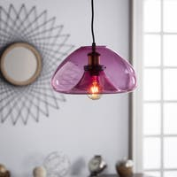 Harper Blvd Annunzio Colored Glass Pendant Lamp