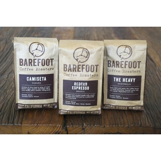 Barefoot Coffee 12 oz. Dark Roast Drip Coffee Whole Bean Sampler (Set of 3)