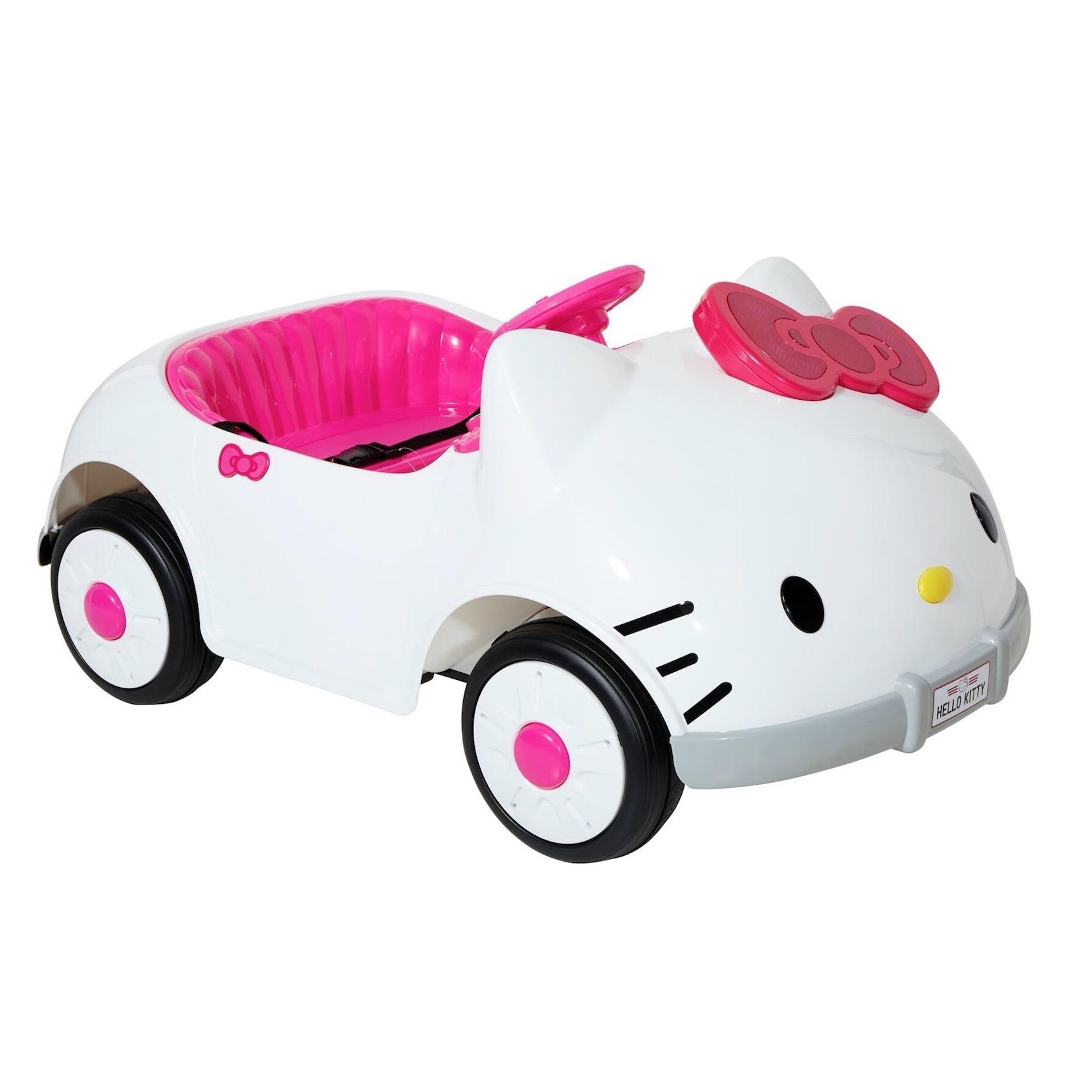 Kids Ride on Hello Kitty Car Girls Children Powered Riding Toy