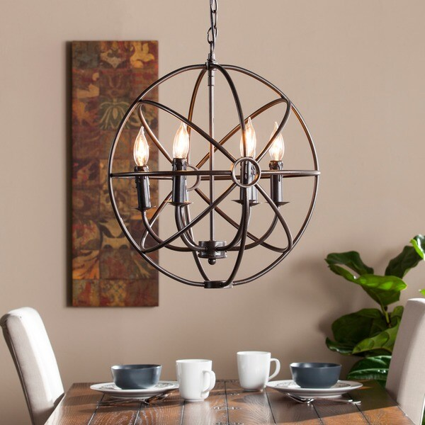 Shop Harper Blvd Adris 6 Light Orb Pendant Lamp Free