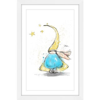 Marmont Hill - 'Lutin' by Marie-Eve Pharand Framed Painting Print