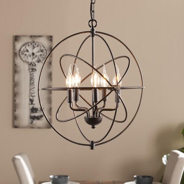 Overstock Lighting: Shop Harper Blvd Novus 5-Light Orb Pendant Lamp