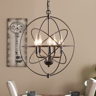 Buy cage pendant lighting online at overstock our best harper blvd novus 5 light orb pendant lamp aloadofball