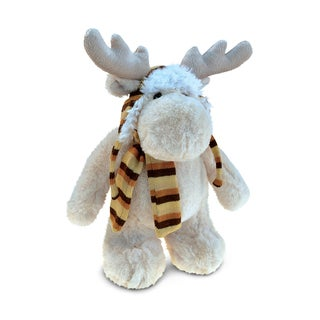 Puzzled Super Soft Plush Standing Moose