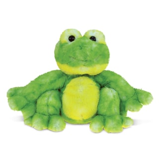 Puzzled 'Cute Frog' Super-Soft Stuffed Plush Cuddly Animal Toy