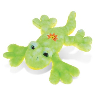 Puzzled Gecko 13.5-inch Super-soft Stuffed Plush Cuddly Animal Toy
